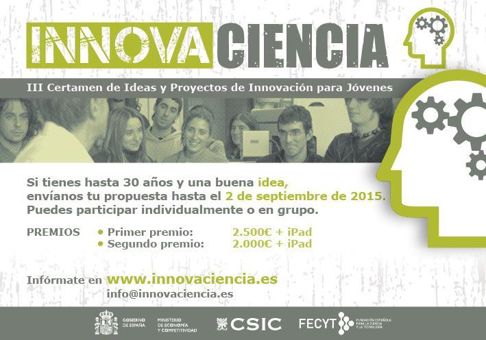 Concurso innovaciencia