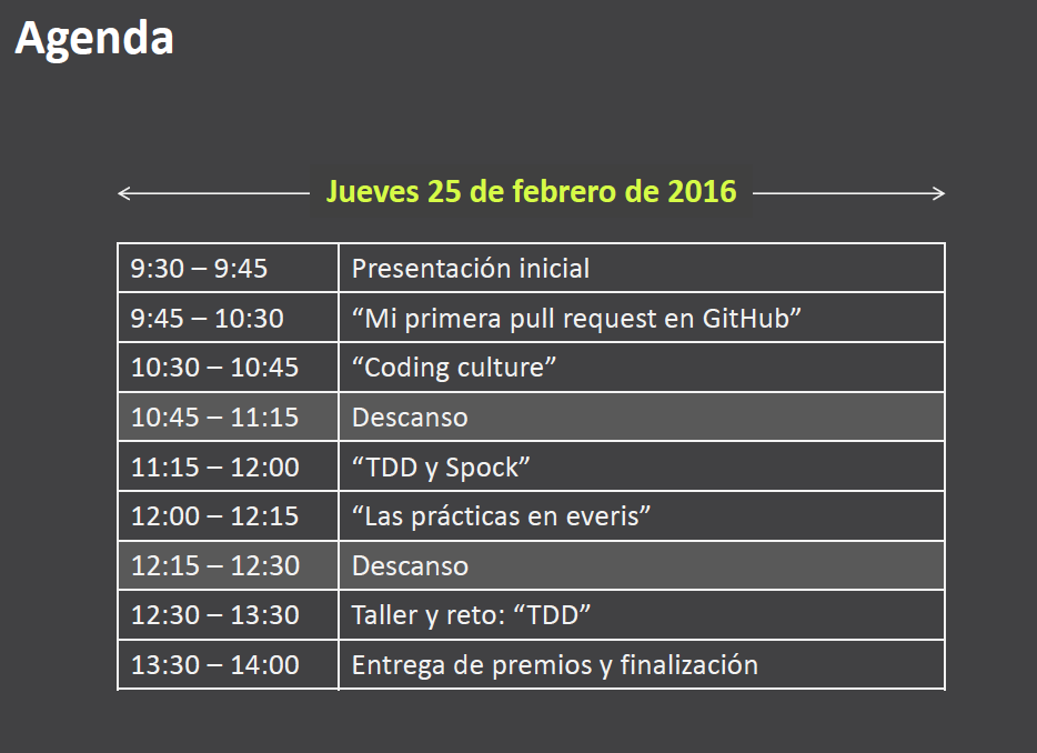 Programa Heading to CodeFEST